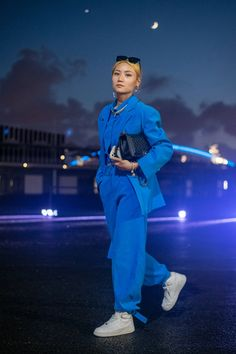 The Best Street Style at Shanghai Fashion Week Spring 2022 | Vogue