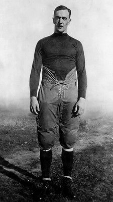 University Notre Dame 1920 George Gipp Football Photo All American Knute Rockne