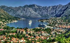 In the Middle Ages, this natural harbour on the Adriatic coast in Montenegro was… Top Travel Destinations, Travel Tours, Budget Travel, Hotel Porto, Villa Dubrovnik, Rhapsody Of The Seas, Spa Jacuzzi, Serbia And Montenegro, Home Luxury