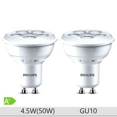 Set 2 becuri LED spot Philips 4.5W (50W), GU10, 15000 ore, 3000K, lumina alba calda https://www.etbm.ro/becuri-led  #led #ledphilips #philips #lighting #etbm #etbmro #philipsled #lightingfixtures #lightingdyi #design #homedecor #lamps #bedroom #inspiration #livingroom #wall #diy #scenes #hack #ideas #ledbulbs
