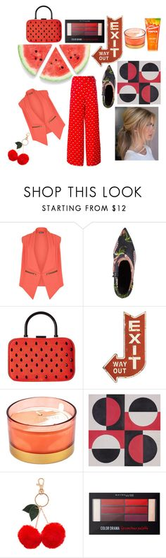 """Untitled #505"" by yasm-ina ❤ liked on Polyvore featuring WearAll, Topshop, Alice + Olivia, Creative Co-op, D.L. & Co., Accessorize, Maybelline and Christopher Kane"