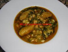 Recopilatorio de recetas : Potaje de garbanzos y bacalao con panecillos en th...
