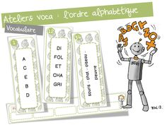 Ateliers  vocabulair