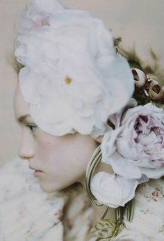 gemma ward wears john galliano, photographed by paolo roversi for vogue march…