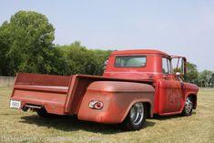 Chevy 2 Ton Truck   Brad Starks Custom 1957 Chevy 2-Ton Truck