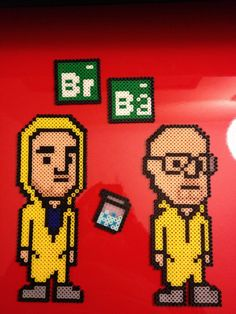 Breaking Bad perler bead sprites
