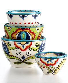Espana Bocca 4 Piece Bowl Set