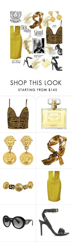 """""""Time to remember 15.07.1997"""" by stellina-from-the-italian-glam ❤ liked on Polyvore featuring Versace"""