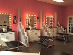 Grooming Salon | pet shop design | Pinterest | Grooming salon and ...