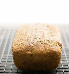 Black Pepper & Oregano English Muffin Loaf - Confused Bawarchis