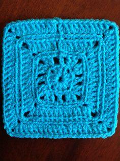 Ravelry: BLO: 6 inch square pattern by Anastacia Zittel