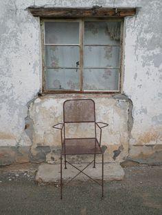 Iron Chair canvas print