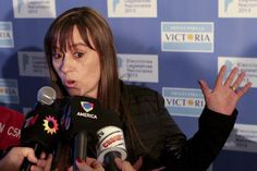 La candidata del Frente para la Victoria, Juliana Di Tullio, destacó este domingo la jornada cívica que se vivió en las elecciones legislativas argentinas (Foto: EFE)