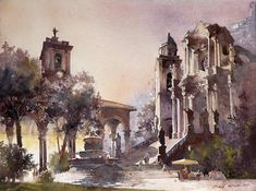 Michal Orlowski                Watercolor , architect  One of the founders of the Association of Polish watercolourists     ´´The use of wat...