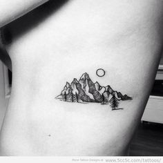 Top 100 mountain tattoo