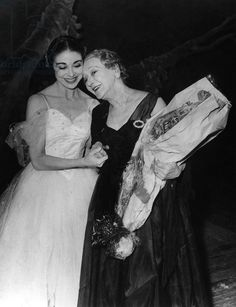 Тамара Карсавина и Марго Фонтейн 1961