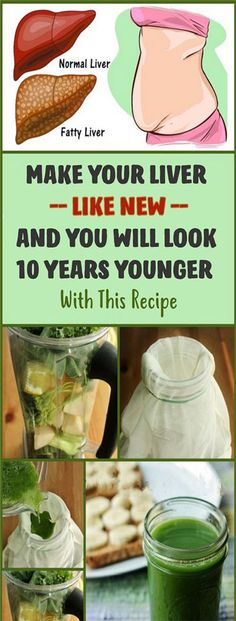 THE RECIPE DOCTORS WILL NOT TELL YOU YOUR LIVER WILL BE LIKE A NEW AND YOU WILL LOOK 10 YEARS YOUNGER!
