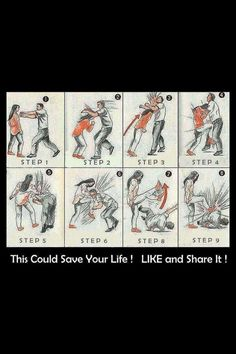 Artes marciales Martial Arts Defensa personal Self defense Survival Life Hacks, Survival Tips, Survival Skills, Survival Stuff, Self Defense Tips, Self Defense Techniques, Self Defense Women, Simple Life Hacks, Useful Life Hacks