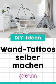 Wand-Tattoos selber machen? Wir zeigen, wie es geht! #wandttatoos #diywandtattoos