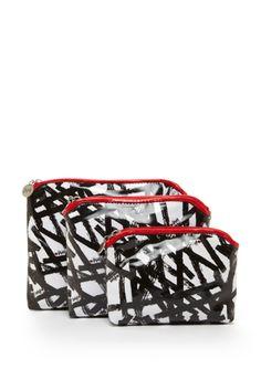 VERA 3- Piece Cosmetic Bag Set