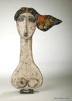 ☥ Figurative Ceramic Sculpture ☥ Ute Großmann