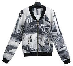 Y.M Women's Original Street Style Printed Pattern Zip Hoodie Jacket  http://www.beststreetstyle.com/2015/03/24/y-m-womens-original-street-style-printed-pattern-zip-hoodie-jacket/