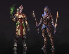 Artist brings Mass Effect cast into the Dragon Age universe | Screenshots | PC Gamer