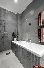 Bildresultat för badrum grått kakel