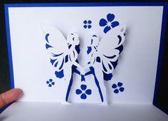 Fairies pop-up card