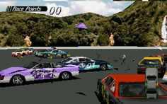 Destruction Derby (1995) - DOS, published by Psygnosis (now Sony Liverpool)