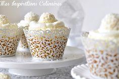 Cupcakes noix de coco et aux Raffaello