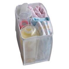 Baby Diaper milk Bottle Divider Storage Bag White L Size LedChoice http://www.amazon.com/dp/B00DHCO2FC/ref=cm_sw_r_pi_dp_8DFkub01PDY37