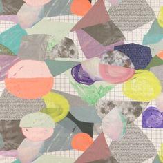 Bomull multifarget kunst illustrasjon Art And Illustration, Fall Winter, Autumn, Textiles, Sewing, Diy, Prints, Pattern, Cotton