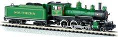 Bachmann N Scale 4-6-0 Baldwin Steam Locomotives at BLW,