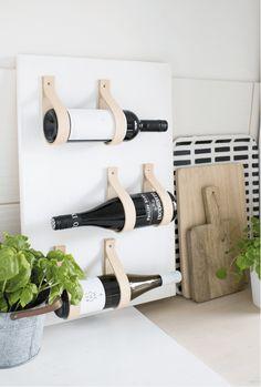 DIY - Interior-Inspiration ❤ Two for Fashion - Ideen Wine Rack Inspiration, Home Crafts, Diy Home Decor, Diy Crafts, Wine Rack Design, Diy Kitchen Projects, Kitchen Ideas, Kitchen Design, Diy Simple