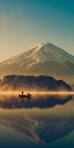 Mount Fuji, Honshu Island, Japan