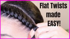 How To Get The Perfect Flat Twist Out demonstrates how to achieve a beautiful wavy style for your natural hair Flat Twist Out, Natural Hair Flat Twist, Flat Twist Styles, Flat Twist Updo, How To Grow Natural Hair, Twist Outs, Short Hair Twist Out, How To Twist Hair, Natural Hair Transitioning