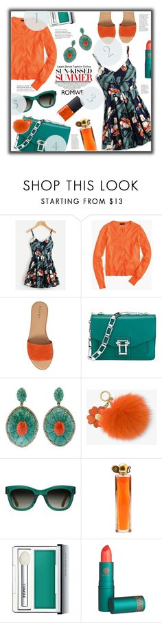 """""""SUN KISS"""" by jckallan ❤ liked on Polyvore featuring J.Crew, Hinge, Proenza Schouler, Silvia Furmanovich, MICHAEL Michael Kors, TOMS, Givenchy, Clinique, Lipstick Queen and NARS Cosmetics"""