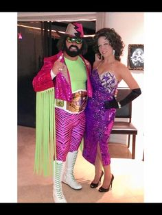 Macho Man Randy Savage and Elizabeth Costume.