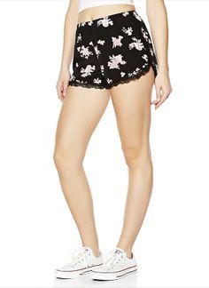 soft floral short