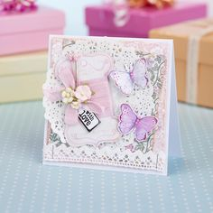 Bobbin card from Papercraft Inspirations 155