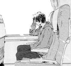 manga, boy, and anime image Manga Anime, Manga Boy, Anime Guys, Anime Art, Anime Negra, Character Art, Character Design, Anime Triste, Sad Art
