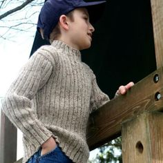 Spanky boys - Knitting at KNoon sweater pattern