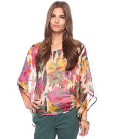 Floral Masterpiece Top | LOVE21 - 2002930328