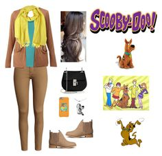 """""""Scooby Doo"""" by argenta2410 ❤ liked on Polyvore featuring mode, INC International Concepts, H&M, maurices, Johanna Howard en Chloé"""
