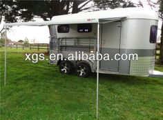 FIAMMA awing deluxe slant Load 2 horse trailer $5500~$7000