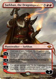 Sarkhan the dragonspeaker