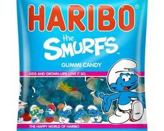 Haribo Smurfs Gummi Candy Giveaway Sweepstakes