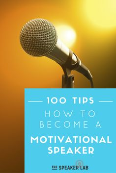 Want to become a professional motivational speaker and get paid to speak in public? Follow these tips to build your speaking business!