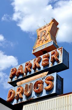 Parker Drugs in Leeds, AL ...out in front of the old Leeds Hospital.